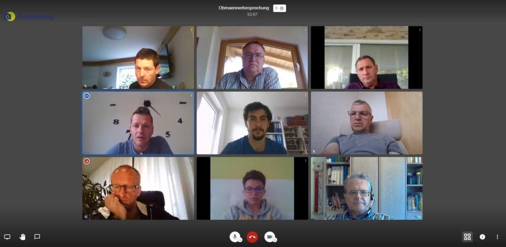 20200524 Obmaenner Videokonferenz